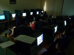 Una WebQuest en clase.